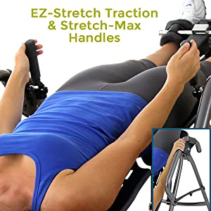 ez-stretch traction and stretch max handles