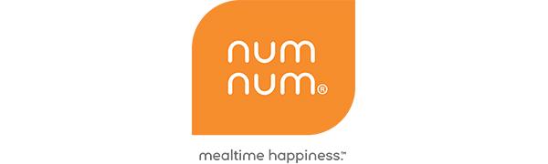 num num logo gootensils mealtime happiness