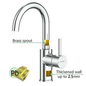 KANARY bar Kitchen bathroom sink faucet Lead-Free Solid Brass