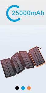 solar charger orange