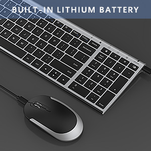 ultra slim rechargeable wireless keyboard mouse combo black silver detail page 925 (4)