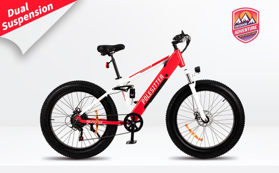 Full Suspension E Bike