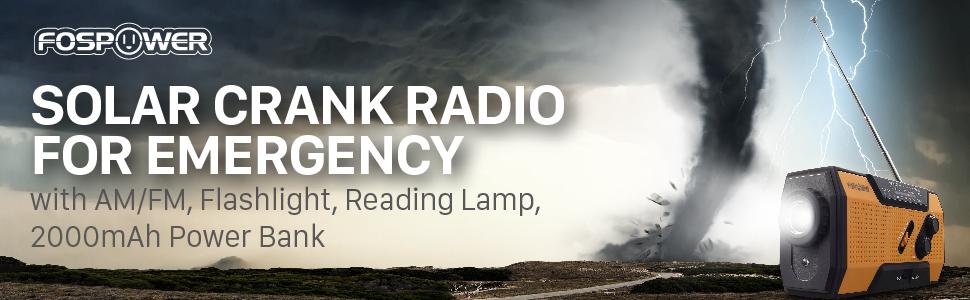 solar crank radio