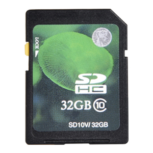 SD Card Included
