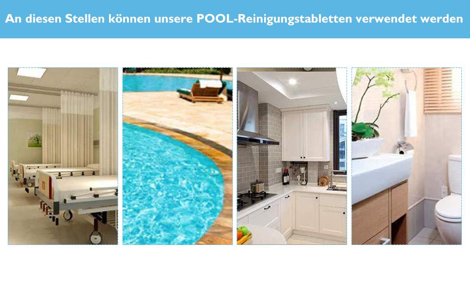 Chlortabletten für pool