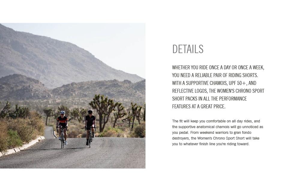 giro apparel Chrono Sport Short women bike details