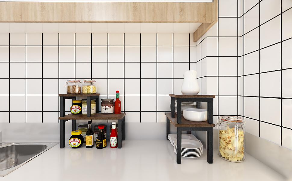 stackable kitchen organizer