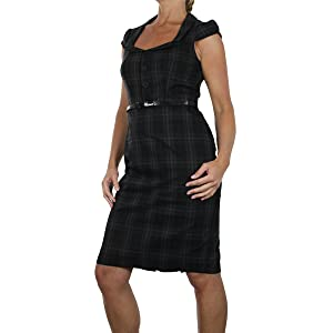 ladies slim midi dress