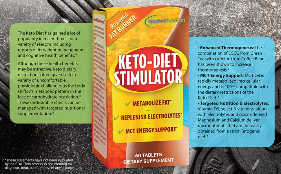 keto stimulator applied nutrition