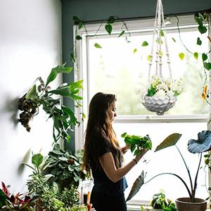Flower Pots Holder Stand Boho Home Decor