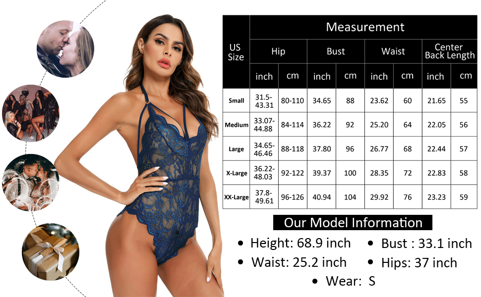 Lace Sleep lingerie  naughty lingerie Mesh Babydoll one piece outfits Boudoir Nighty plus size
