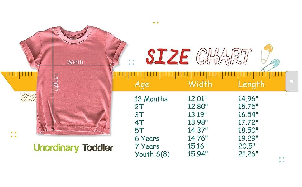 Size Chart- Girls