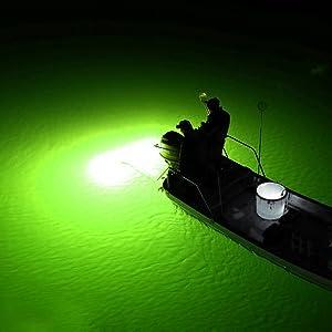 LED Bait Submersible Fishing Light