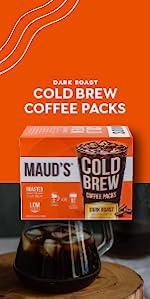 Cold Brew Ice Coffee Iced Coffee Dark Roast Cold Coffee Ice Coffee Starbucks Cold brew Filter Packs