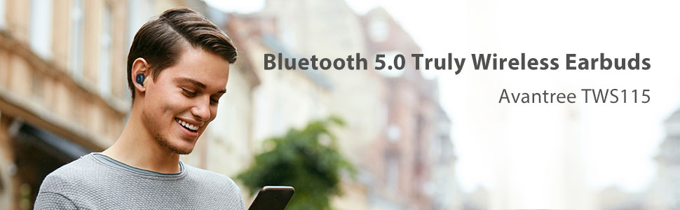 bluetooth 5.0 truly wireless earbuds
