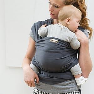 500 cm WHITE PEPPER Babylonia Babytrage aus 100/% Bio-Baumwolle Modell TRICOT SLEN