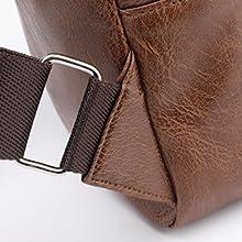 sling leather bag