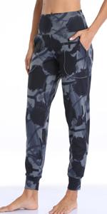 Women Joggers High Waist Yoga Pockets Sweatpants Sport Workout Pants