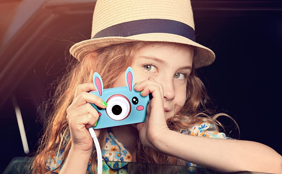 lilexo Kids Digital Camera, Gifts for Girls Age 3-8 Years