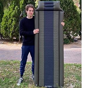 inflatable sleeping pad cot pad cots cot mattress camp mattress camping bag camping gear