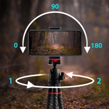 phone tripod with multi angle ball joint