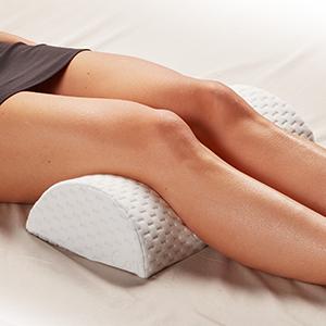 Leg Elevation Under Knee Pillow