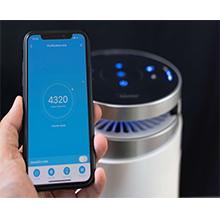 Compatibile Alexa e Goggle Assistant Allergie Purificatore dAria Elimina Odori per Casa o Ufficio Bimar Purificatore Aria Wi-Fi PA98 con Filtro HEPA Pollini Fumo a Carboni Attivi e in Tessuto