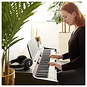 Set de Piano Digital DP-6 de Gear4music + Accesorios