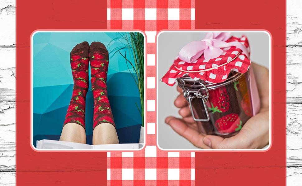 Encuentra los mejores calcetines de arándanos y fresas en nuestra bodega