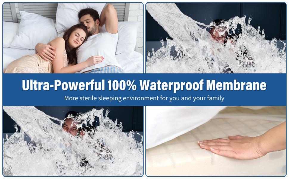 Waterproof Mattress Pad Protector Cover