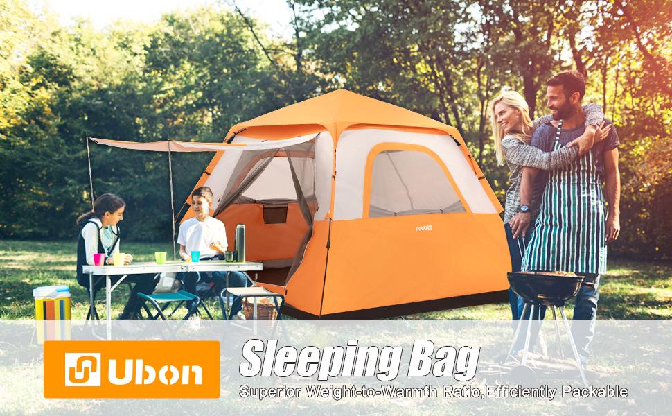 Ubon 6 People Family Tents