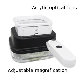 adjustable magnification