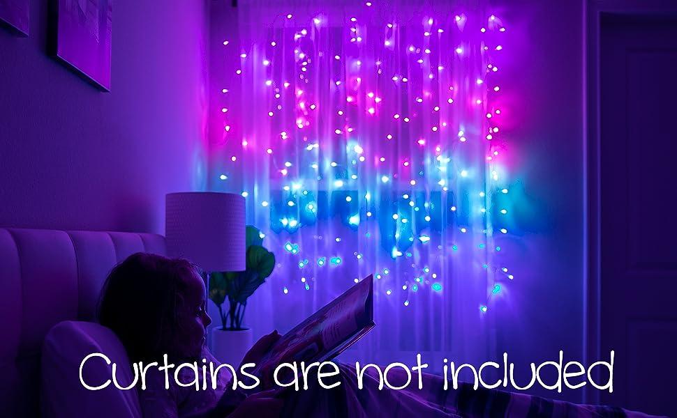 Mermaid Curtain Lights