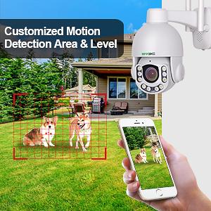 motion detection setting