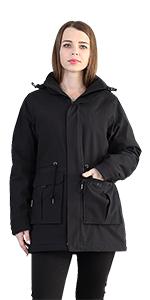 heated jacket women