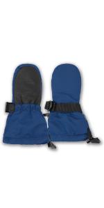 waterproof, snow, ski, mitten, gloves