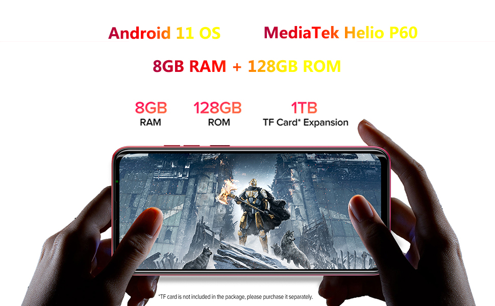 8gb + 128gb phone