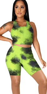 2 piece outfit work out set