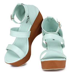 Glamorous yet comfy heels. Sturdy and stap supported.
