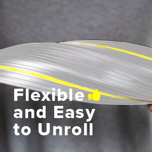 flexible and easy to unroll
