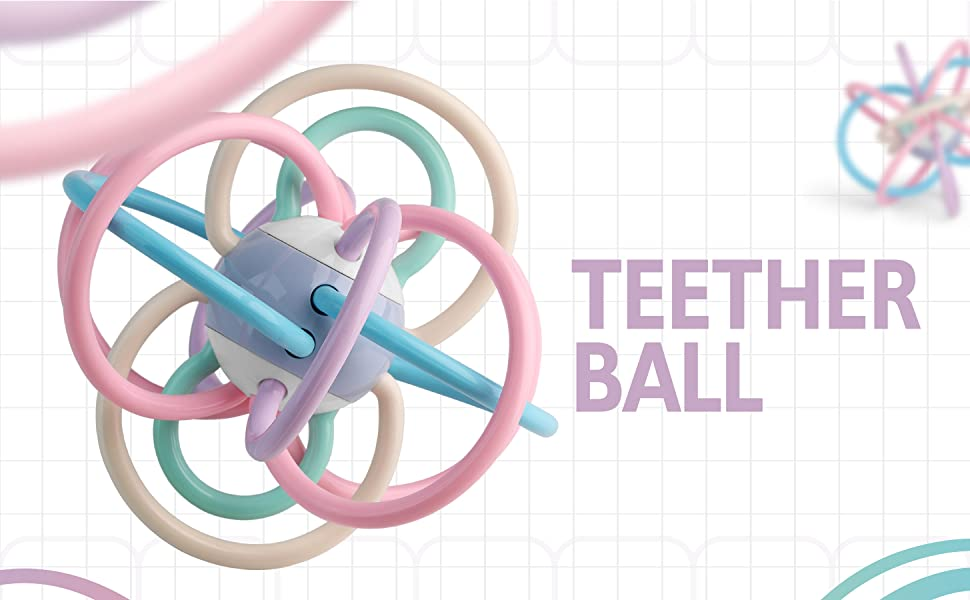Like Infant Nipple Shaped Soothing teether for Sucking Babie