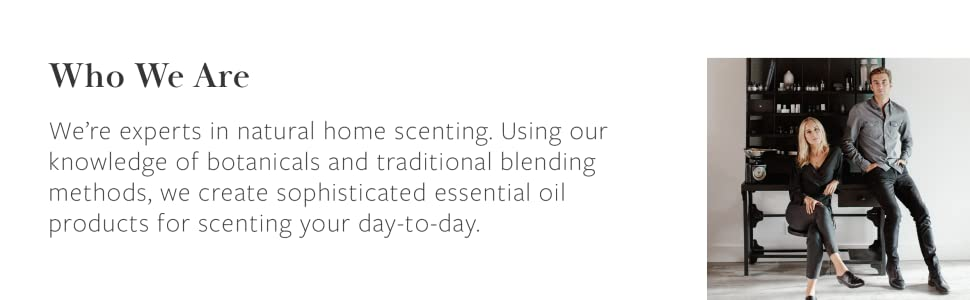 We're experts in natural home scenting.