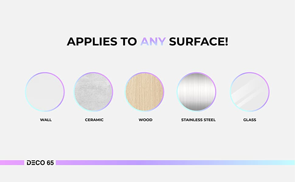 Craft Vinyl Applies to every surfaces