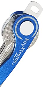 Aluminum Blue - Up to 8 Keys