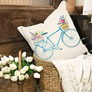 easter, summer, spring, bike, print, room, sofa, covers, cover, decor