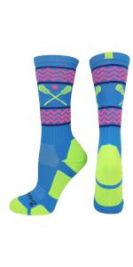 Red Lion Lax Solid Lacrosse Socks Dark Green - Medium // Large