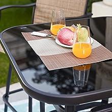 swivel bar stools patio bar set