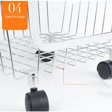 4 Layer Metal Kitchen Storage Organizer Rack