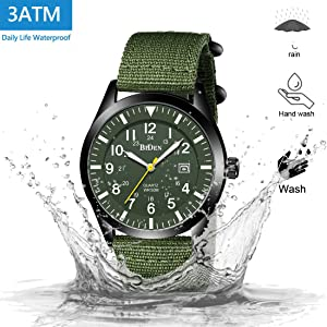 Waterproof Outdoor Military Army Tactical Field Watches