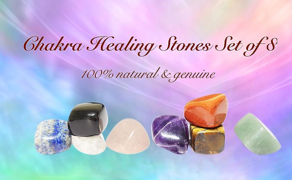 Healing crystal stones